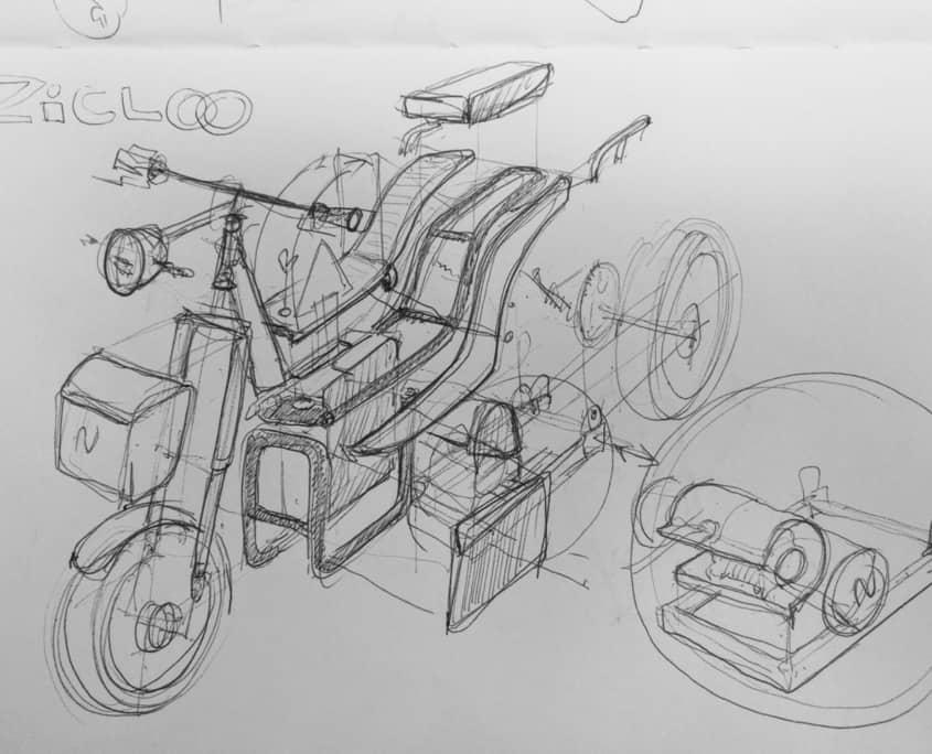 zyclik moto eléctrica NUUK