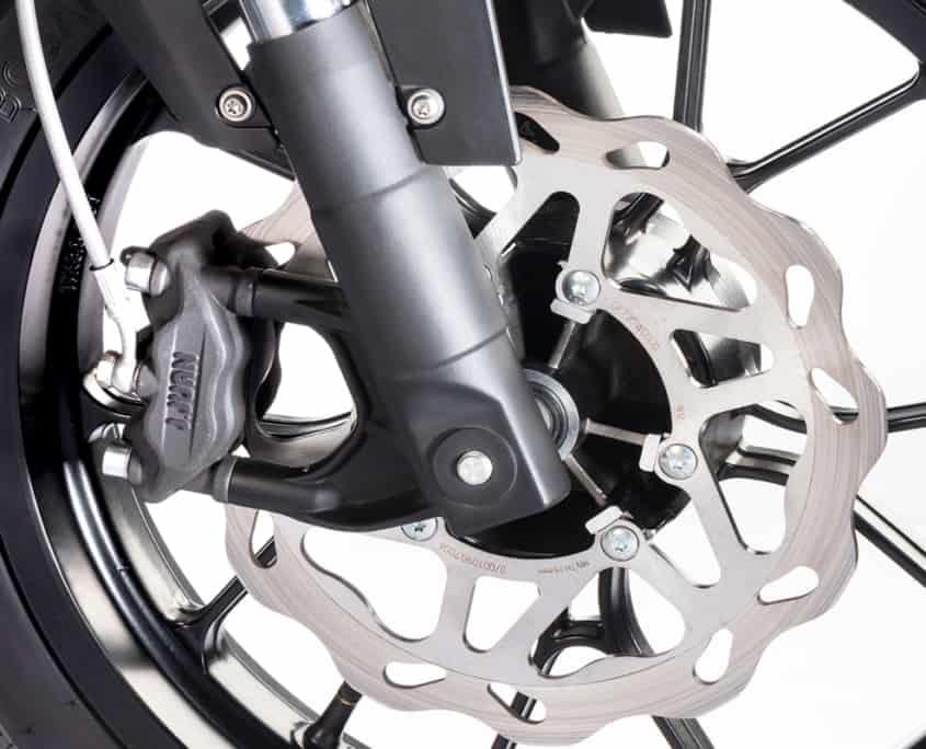 Nuuk moto eléctrica Gen Tracker rueda