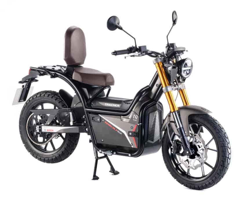 NUUK Gen Tracker moto eléctrica