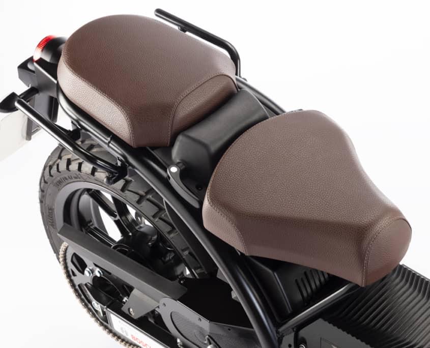 Nuuk moto eléctrica Gen Tracker silla