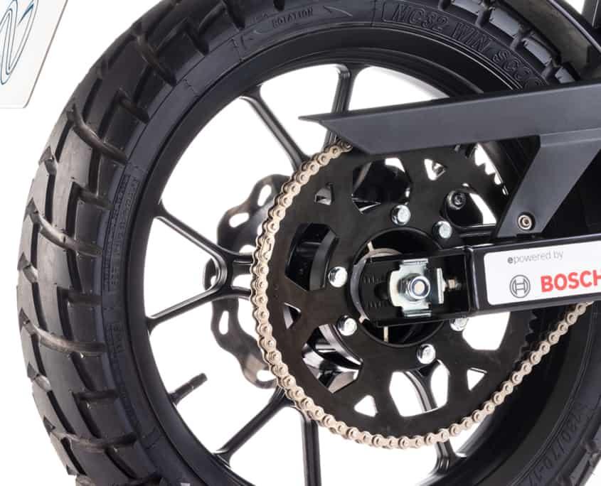 Nuuk tracker rueda moto eléctrica