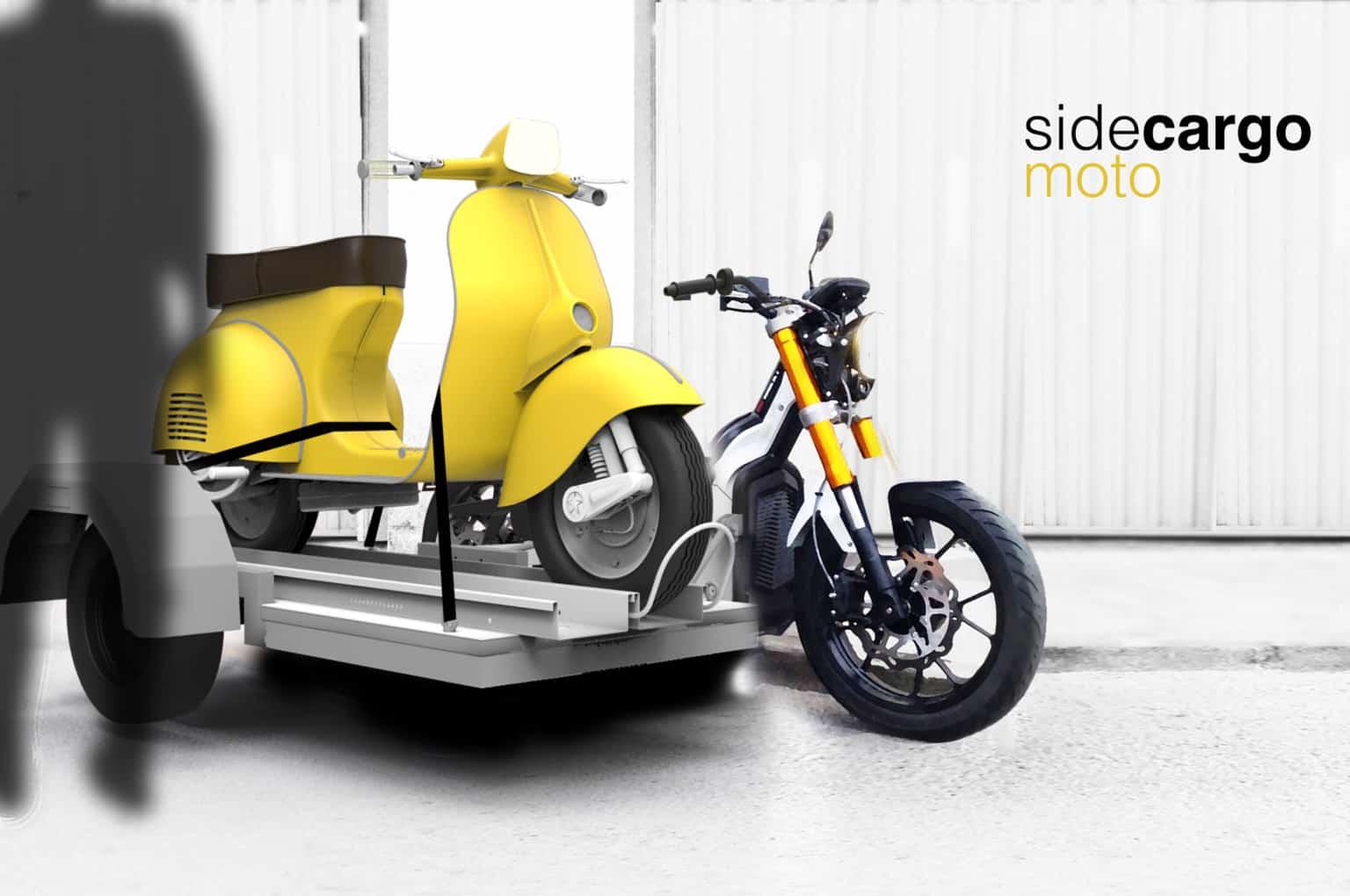 sidecargo nuuk moto eléctrica