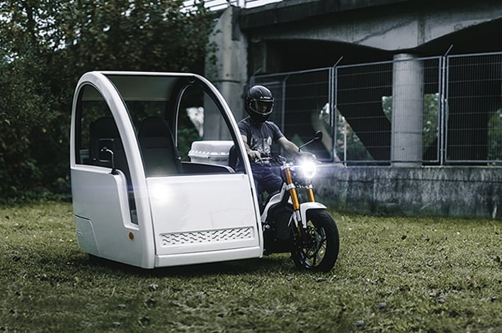sidecar nuuk mobility moto eléctrica