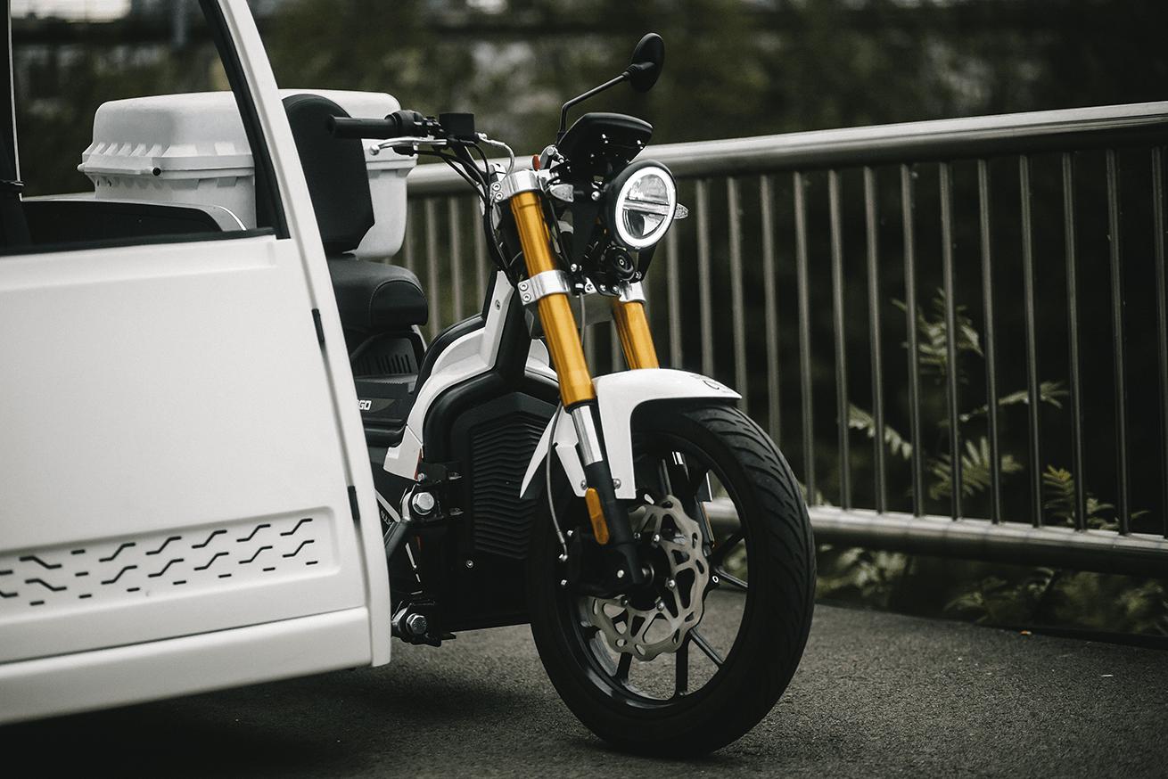 Sidecab NUUK moto eléctrica