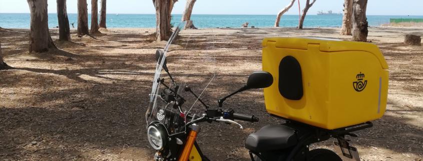 NUUK moto eléctrica correos flota