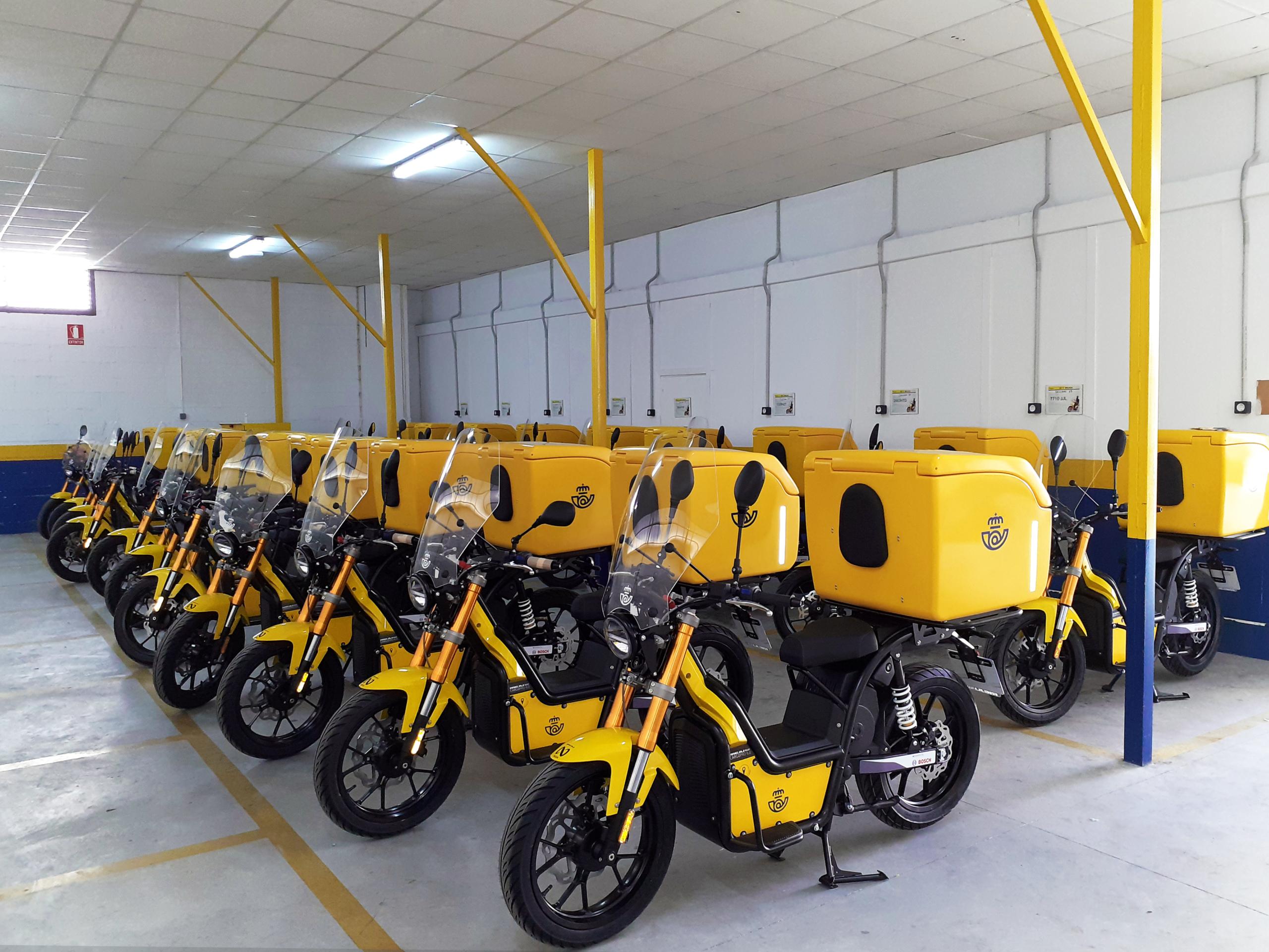 Flota eléctrica NUUK mobility solutions