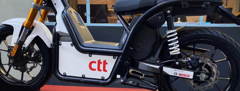 CTT Portugal NUUK mobility moto eléctrica reparto