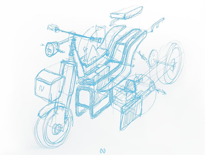 CI01 NUUK mobility moto eléctrica ligera