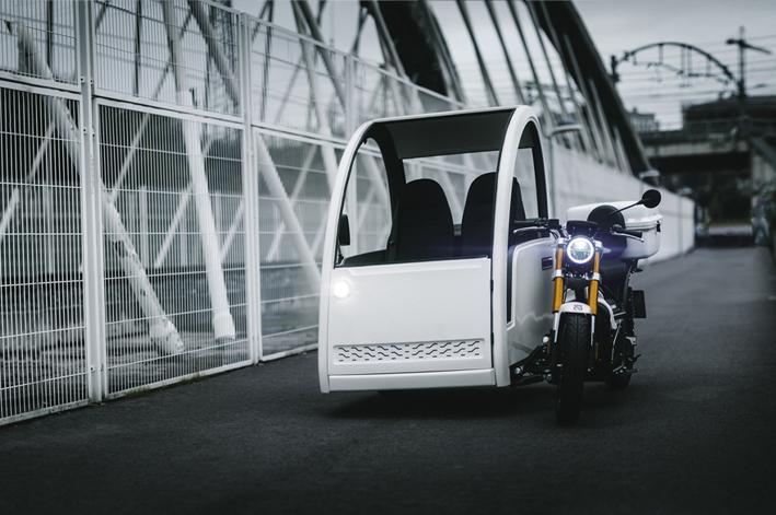 sidecar eléctrico nuuk mobilty moto eléctrica