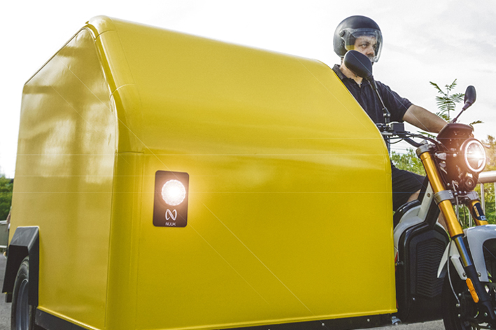 sidecar eléctrico Nuuk Mobility
