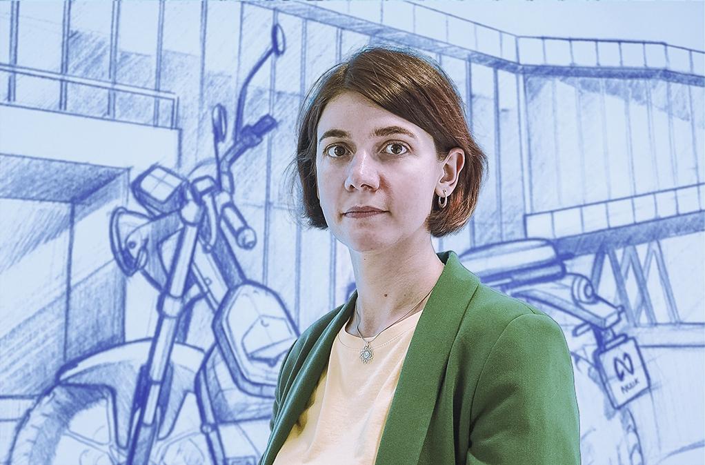 Tetiana Akimova NUUK mobility solutions
